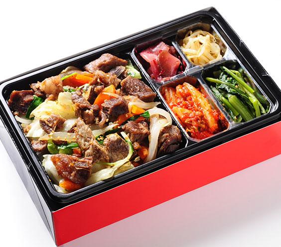 六本木 焼肉 神戸BEEF野菜炒め弁当