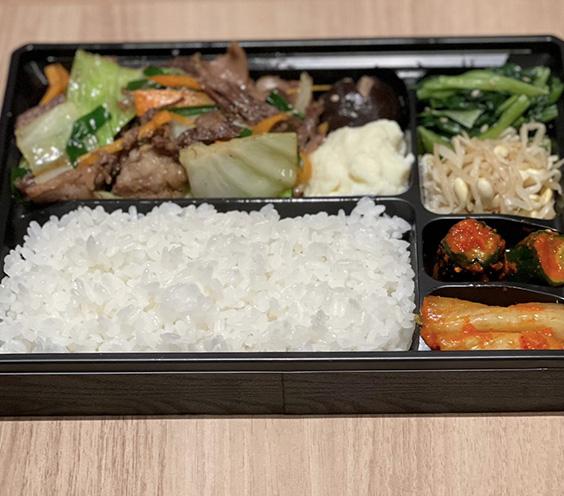 神戸BEEF野菜炒め弁当