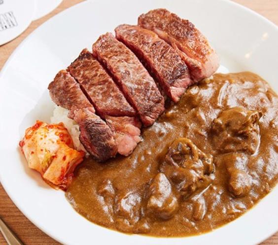 BEEFMAN神戸牛極上ステーキカレー
